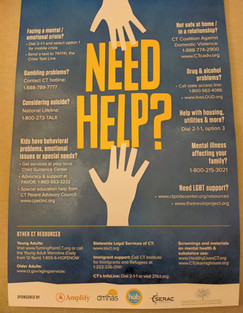Need Help Poster