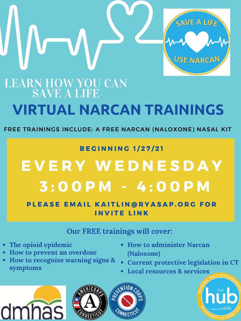 Free Narcan Trainings