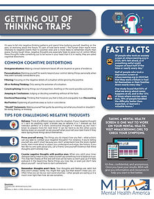 Fact Sheet - Getting Out of Thinking Tra