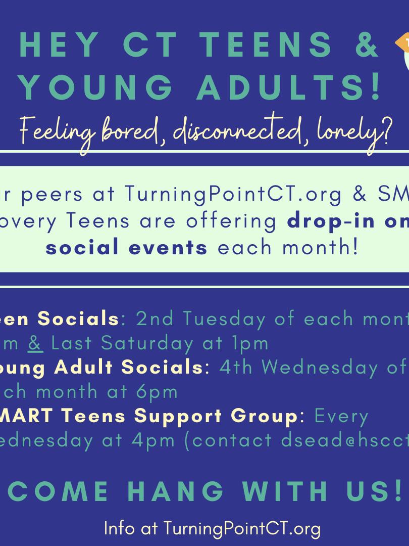 Teen & YA Drop-In Socials