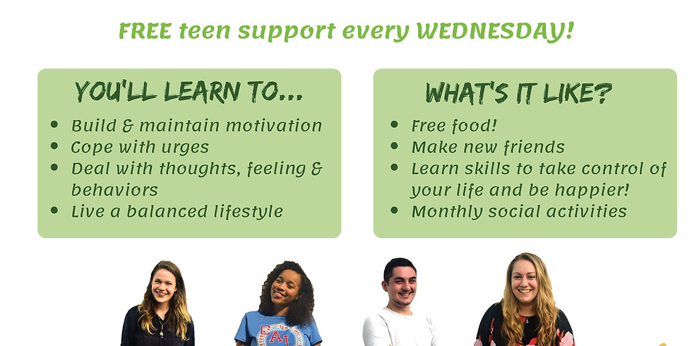 Weekly Smart Recovery Teen Group