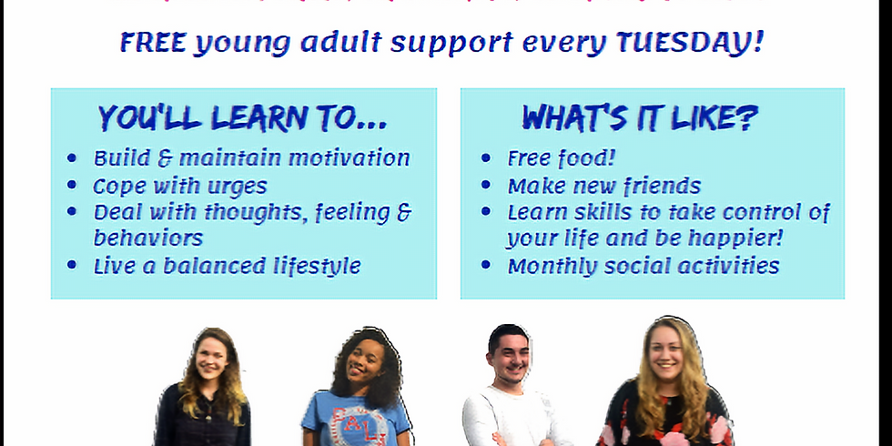 Weekly Smart Recovery Young Adult Group