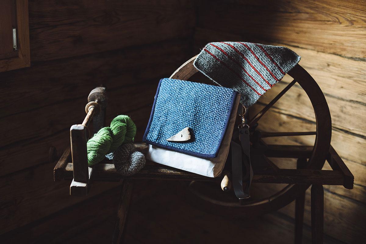Papiertasche und Rucksäcke