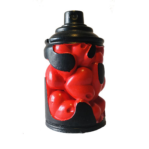 KN Artwork :MINI RED/BLACK LOVE