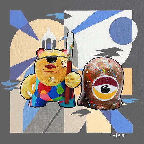 "Wèkup : ""Street Painter"""