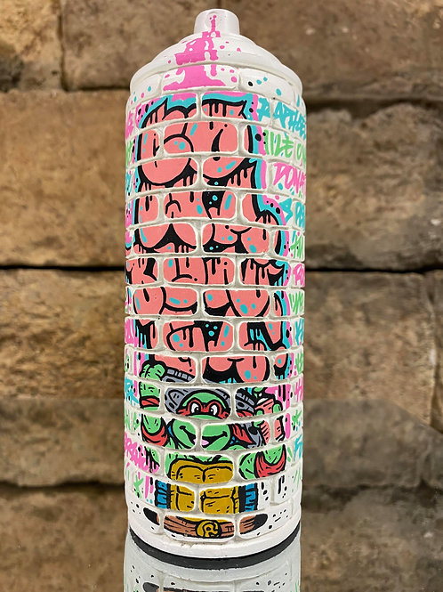 """Kn Artwork X Oskunk """"Wall Cans"""""""
