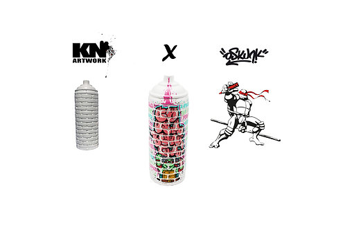 "Kn Artwork X Oskunk ""Wall Cans"""