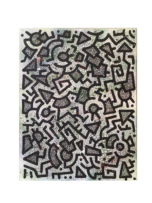 KN Artwork : SUPA GREEN