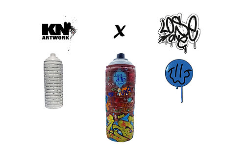 "Kn Artwork X Lose One ""Wall Cans"""