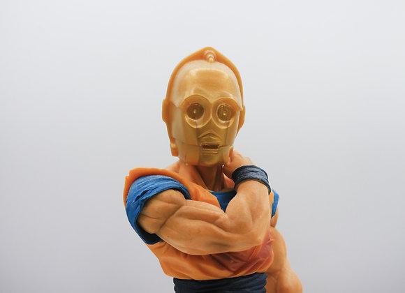 C3PO X Gohan(pièce unique)