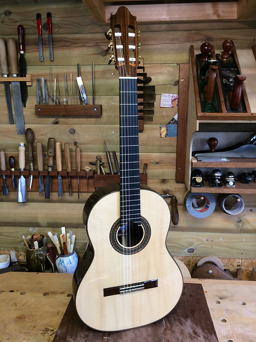 no.86. Concert Model. Spruce and Indian Rosewood. 2020