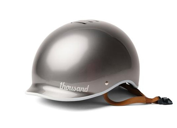Casco Thousand Polished Titanium