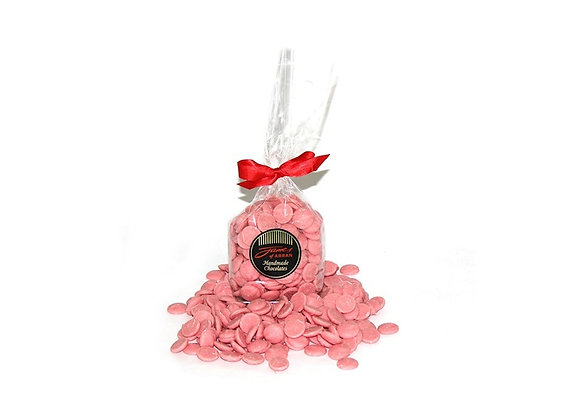 150g Bag of Strawberry Flavoured Chocolate Buttons