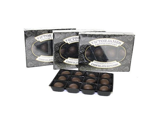 150g Box of Victor James Chocolate Gingers