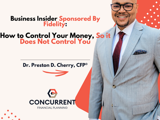 How to Control Your Money, So it Does Not Control You (webcast event; replay)