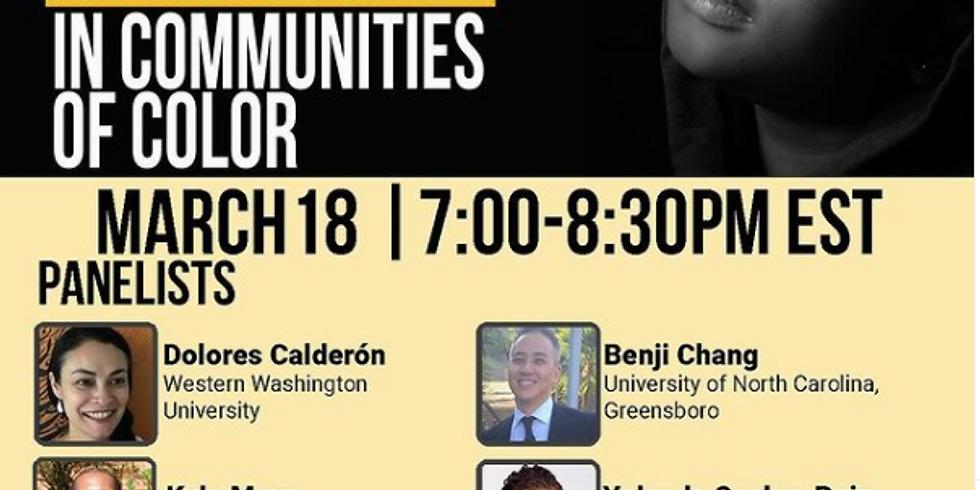 IUPUI School of Education - Anti-Black Racism in Communities of Color