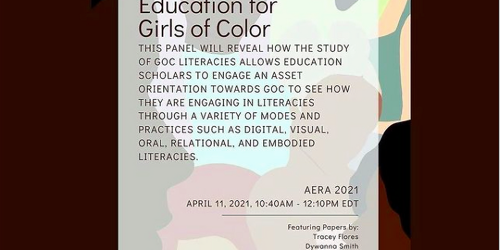 AERA - Re-Imagining Literacy and Language Education for Girls of Color