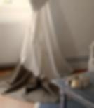 rideau, tentures lin et coton