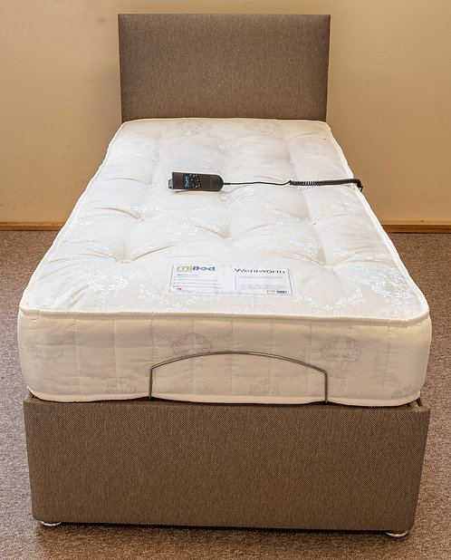 Single (3') Electric Bed Frame & Mattress