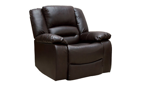 Barletto Brown Recliner Chair - 1 Seater
