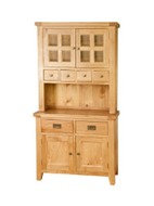 BoF Furniture - Buffet and Hutch 4 Drawers & 2 Doors top