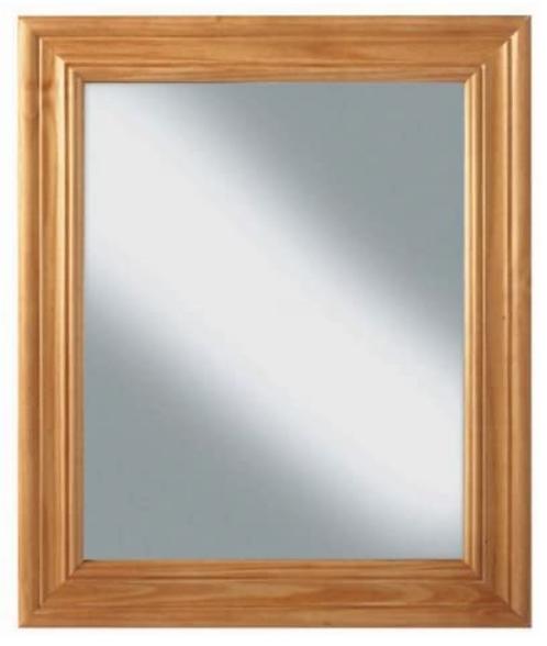 Sol Pine Square Mirror