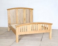 Double (4'6) Solid Oak Arched Bed Frame