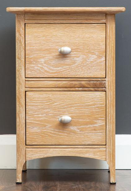 Lagan Oak Bedside Cabinet