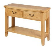 BoF Furniture - Table Hall 2 Drawer