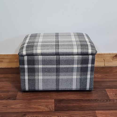 Small Tartan Storage Box