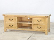 BoF Furniture - TV Unit 2 Shelves 4 Drawers