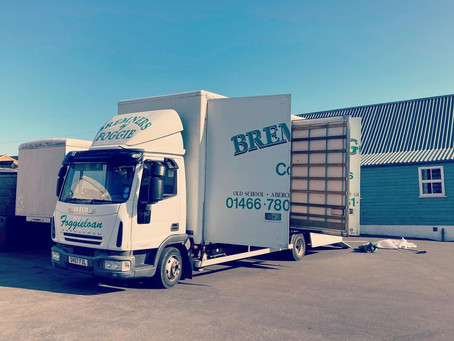 Ready for removals!