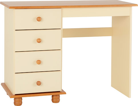 Sol Cream 4 Drawer Dressing Table