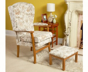 Cotswold Chair and footstool