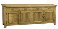 BoF Furniture - Buffet 4 Drawer 4 Door