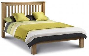 wooden bed frame