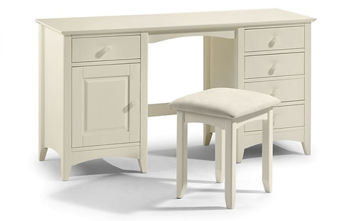 Cameo Stone White Dressing Table