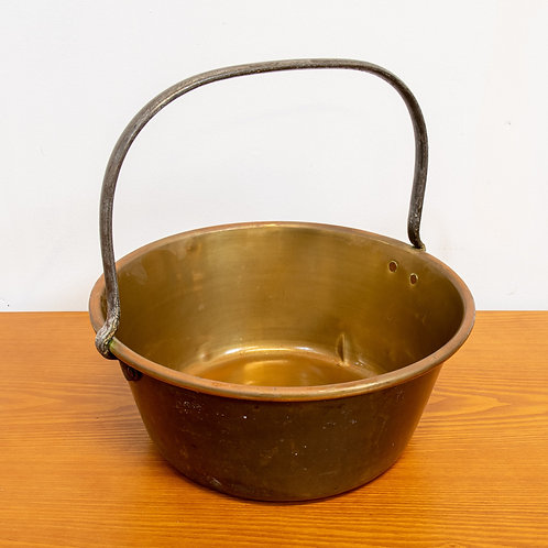 Vintage Brass Berry Pan