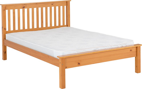 King (5') Pine Low Foot End Bed