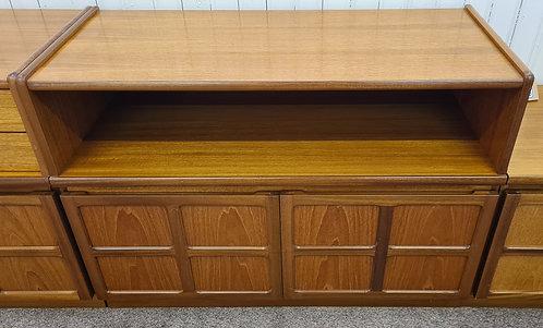 Nathan Teak 2 Door 1 Shelf Unit/Cabinet