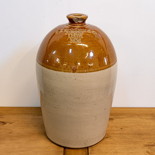 AW Buchanan Earthenware Flagon