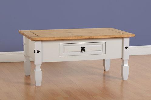 Corona Grey 1 Drawer Coffee Table