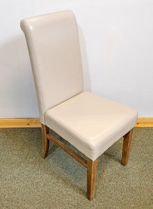 Cream PVC Chair