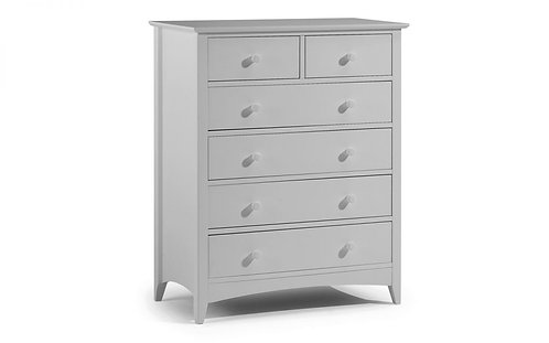 Cameo Dove Grey 4+2 Drawer Chest