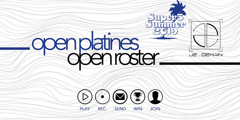 Open Platines Open Roster