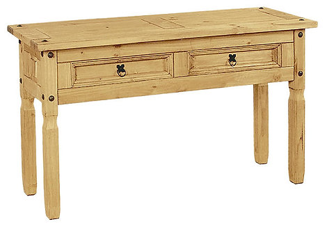 Corona Console 2 Drawer Table