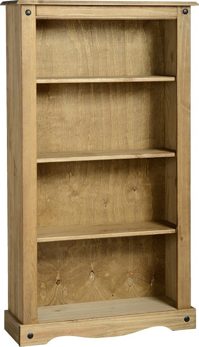 Corona 3 Shelf Bookcase