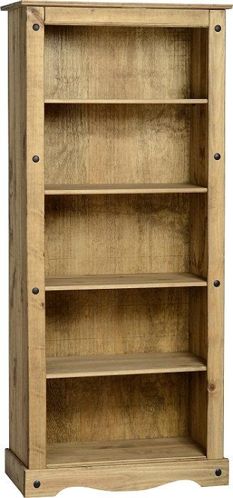 Corona 4 Shelf Bookcase