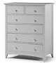 grey tall chest of drawers
