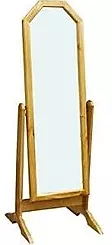 Sol Pine Cheval Mirror